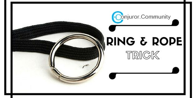 ring and rope trick