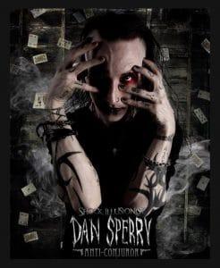 magician fails interview - dan sperry
