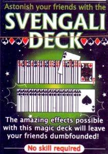 trick decks svengali deck