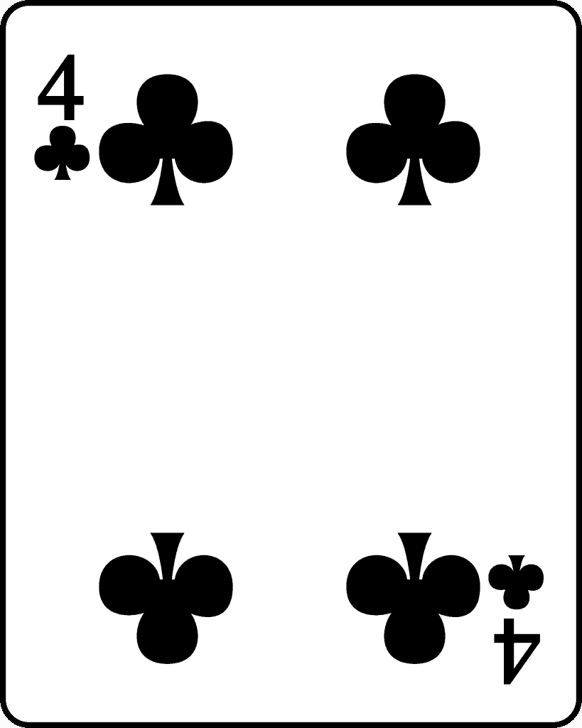 best magic tricks on phone (four of clubs)