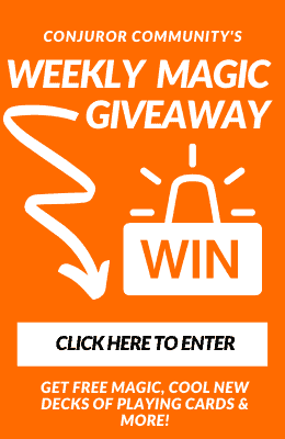 weekly magic giveaway